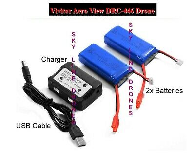 Vivitar AeroView Drone Balance Dual Battery Charger Kit SALE!