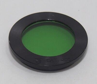 American Optical Ao Cat. 408 Microscope Filter Holder W Green Filter