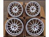 """18"""" set Fox Alloys wheels BMW , insignia , Renault MASTER pcd 5x120"""