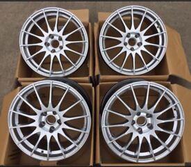 """18"""" set Fox Alloys wheels BMW , insignia , Renault pcd 5x120"""