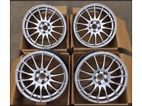 "18"" set Fox Alloys wheels BMW , insignia , Renault pcd 5x120"
