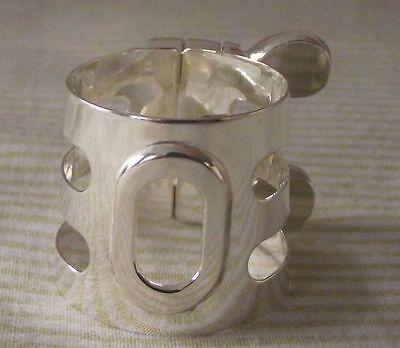 Fortissimo BR31 Silver Mouthpiece Cap Modern Hard Rubber Tenor Saxophone pieces