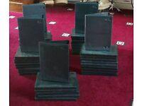 50 X Black Single DVD Boxes