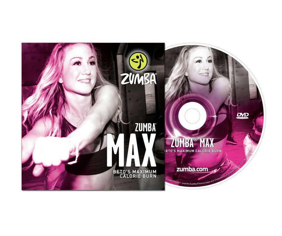 Zumba Fitness  DVD * MAX * 60 min.Workout mit Beto **NEU*** TOP*** High-Energy!