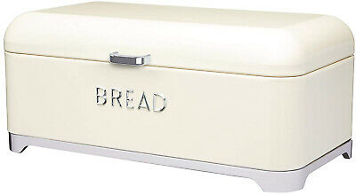 Kitchen Craft Lovello - Cestino Per Il Pane, 42 X 22 X 18 Cm, Colore: Panna