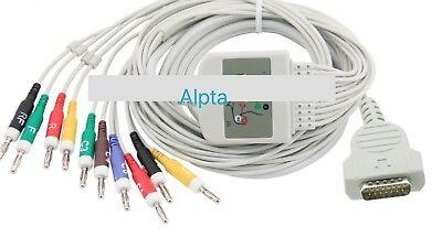 Ge Marquette Ekg Cable Mac 1600 Ekg Cable Aha Banana4 .0 Plug End