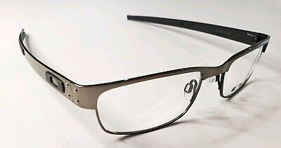 Oakley RX Eyeglasses Metal Plate Light Titanium Frames 22-200 53-18-140 New