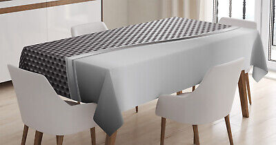 Geometrisch Tischdecke, Quadratische Gitter Design