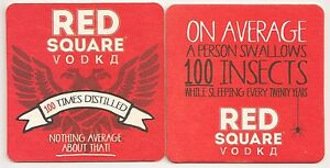 Red Square Vodka - Bierdeckel/Coaster &quot;100 Insects&quot; - <span itemprop='availableAtOrFrom'>Rainbach im Innkreis, Österreich</span> - Red Square Vodka - Bierdeckel/Coaster &quot;100 Insects&quot; - Rainbach im Innkreis, Österreich