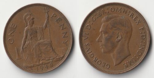 1948 Great Britain 1 penny coin