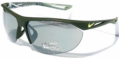 09cfd4ab16ed Nike Tailwind Swift Sunglasses EV0916 370 Matte Cargo Khaki/Volt 70-11-140
