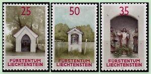 1988-TIMBRE-STAMP-LIECHTENSTEIN-N-892-894-NEUF-LUXE-ORATOIRES-MI-951-953