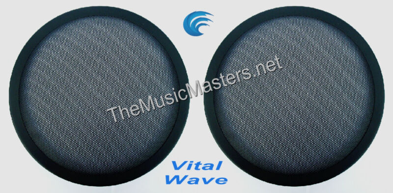 "2X 10"" inch Sub Woofer ""Clipless"" Fine Mesh GRILL Speaker Protective Cover VWLTW"