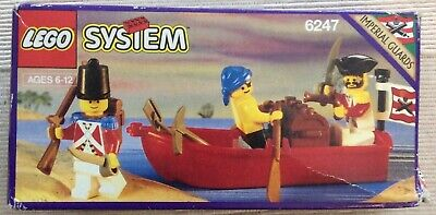 """Vintage 1992 LEGO 6247 Imperial Guards """"Bounty Boat"""" New, Factory Sealed."""