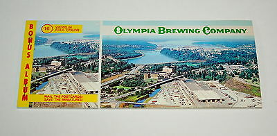 Oly Vintage 1979 Olympia Beer Brewing Company Factory Brewery Post Cards NOS New