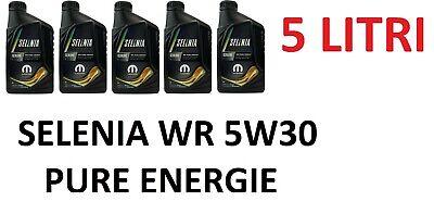 5 LT Olio Motore Selenia WR Pure Energy 5w30 NUOVA CONFEZIONE mopar FIAT M JET