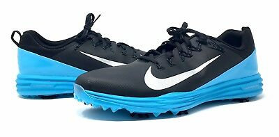 bdf597cb4f1 New Nike Men s Lunar Command 2 Golf Shoes Size 13 Blue   Black 849968-004