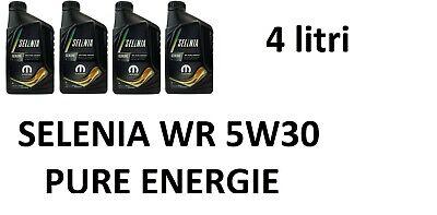 4 LT Olio Motore Selenia WR Pure Energy 5w30 NUOVA CONFEZIONE mopar FIAT M JET