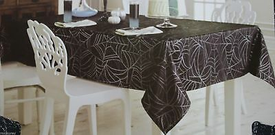 Midnight Market Halloween (Halloween Midnight Market Black Sparky Spiderweb Cloth 60x84 Oblong)