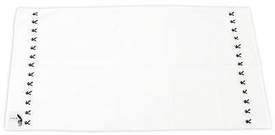 Playboy Classic Duschtuch Bunny Weiß NEU 70 cm x 140 cm 402632