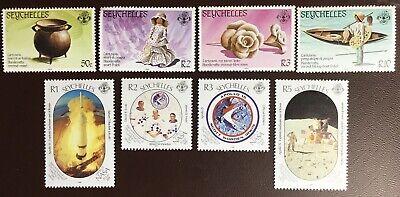Seychelles 1984-89 2 Commemorative Sets MH/MNH