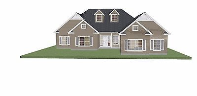 Custom House Plan - Ranch Style  - Ready to Build - 1 Story 1824 SF - PL1605SL
