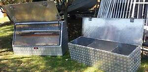 2  Checkerplate  toolboxes Glendenning Blacktown Area Preview