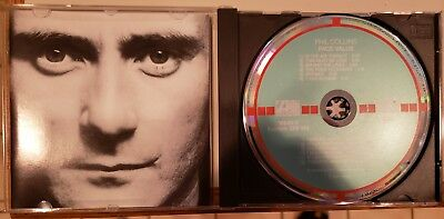 Phil Collins Face Value CD Target W Germany for sale  Shipping to India