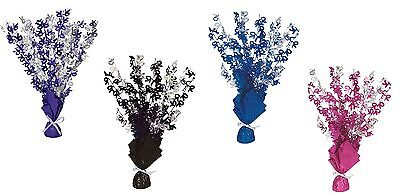 70th Birthday Party Foil Table Cascade Centrepiece Decoration Assorted Colours](70th Birthday Table Decorations)
