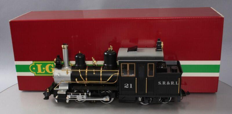 LGB 21251 Sandy River & Rangeley Lakes Railroad Forney Steam Locomotive #21 LN
