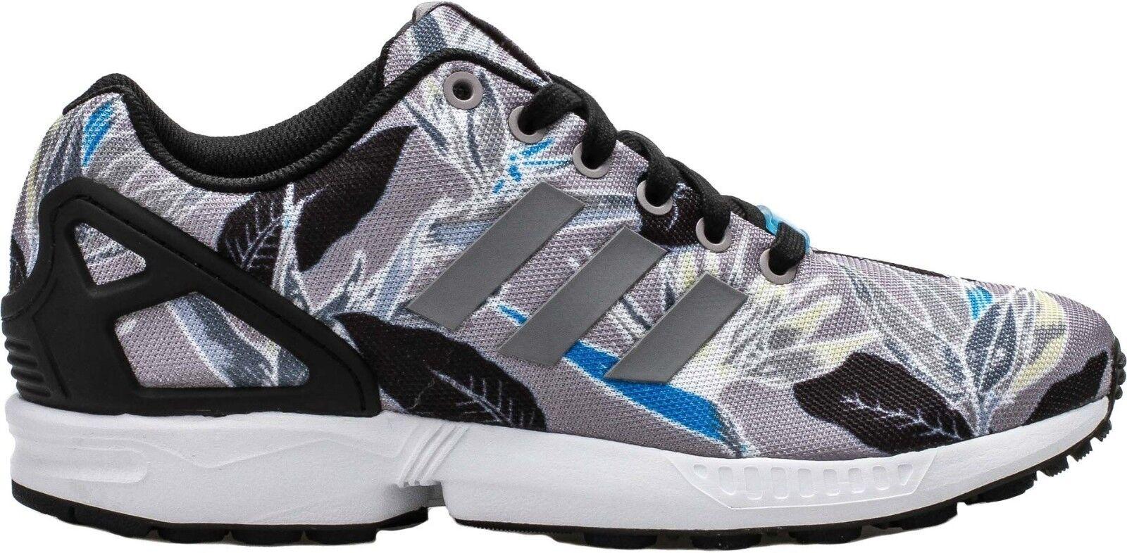 Adidas Original Men's ZX FLUX Shoes NEW AUTHENTIC Light Onyx/White/Floral B34519