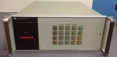 Hpagilent 3947a Data Acquisitioncontrol Unit