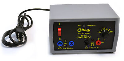 Eisco Labs Power Supply - Regulated Acdc 12v - 2a