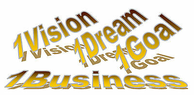 1vision 1dream 1goal 1business