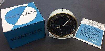 Vintage Westclox Alarm Clock, Mechanical, Scotland, New Old Stock RRP £24.99