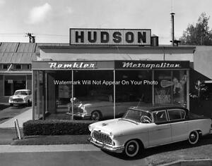 Amc American Motors Hudson Rambler Metropolitan Car