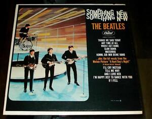 Beatles Something New Vinyl mono