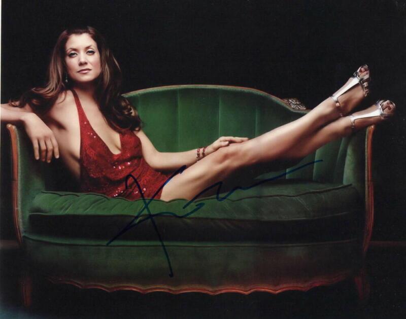KATE WALSH SIGNED AUTOGRAPH 8X10 PHOTO - VERY SEXY, SEDUCTIVE GREY'S ANATOMY