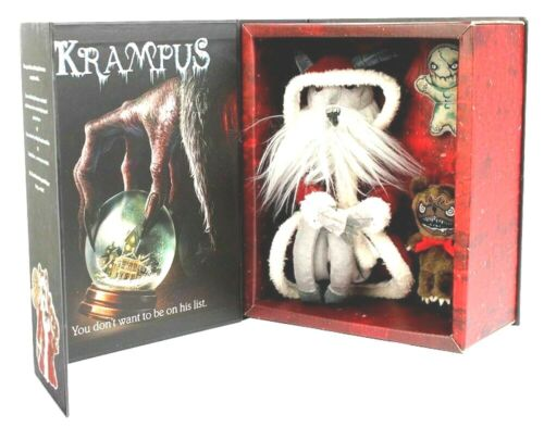 Krampus On The Mantle Deluxe Edition W/ 2 Sidekicks IN HAND 1 DAY SHIPPING