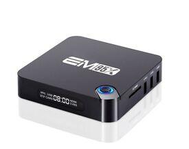 NEW model Em95x android TV box with Quad Core 6.0 Mashmallow and KODI 16.1 Movie Kids Tv live Sports