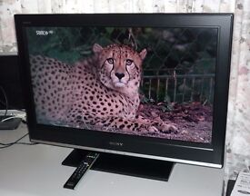Sony Bravia 32 LCD Freeview TV in lovely Condition