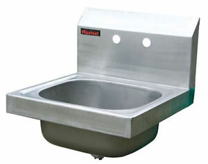 Wall Hung Stainless Steel Sink : Details about New Wall Mounted Stainless Steel Sink Hand Wash Basin ...