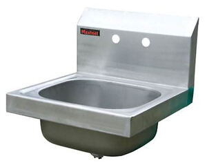 Details about New Wall Mounted Stainless Steel Sink Hand Wash Basin ...