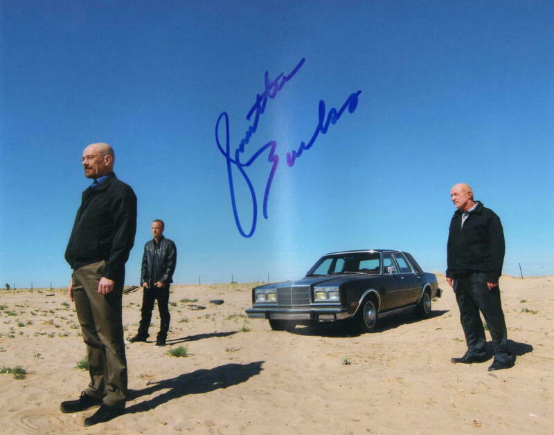 JONATHAN BANKS SIGNED 8X10 PHOTO BREAKING BAD BETTER CALL SAUL AUTOGRAPH COA A