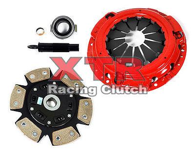 6 Puck Clutch Kit - XTR 6-PUCK CLUTCH KIT for 02-06 ACURA RSX 02-05 HONDA CIVIC Si K20A3 EP3 5-SPD