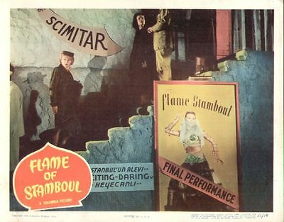 Flame of Stamboul 11x14 Lobby Card #8