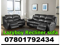 SOFA BRAND NEW RECLINER LEATHER SOFA FAST DELIVERY LAZYBOY 32636