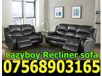 SOFA BRAND NEW RECLINER LEATHER SOFA FAST DELIVERY LAZYBOY 6
