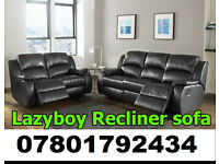 SOFA BRAND NEW RECLINER LEATHER SOFA FAST DELIVERY LAZYBOY 867