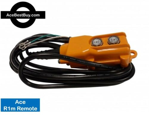 3 or 4 Wire Ace Remote Control - for POWER DOWN hydraulic pump 12v 24v